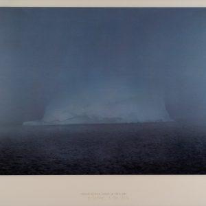 Gerhard Richter, Eisberg im Nebel, 1982, Edition, Farboffsetdruck, signiert 3. Okt. 2014