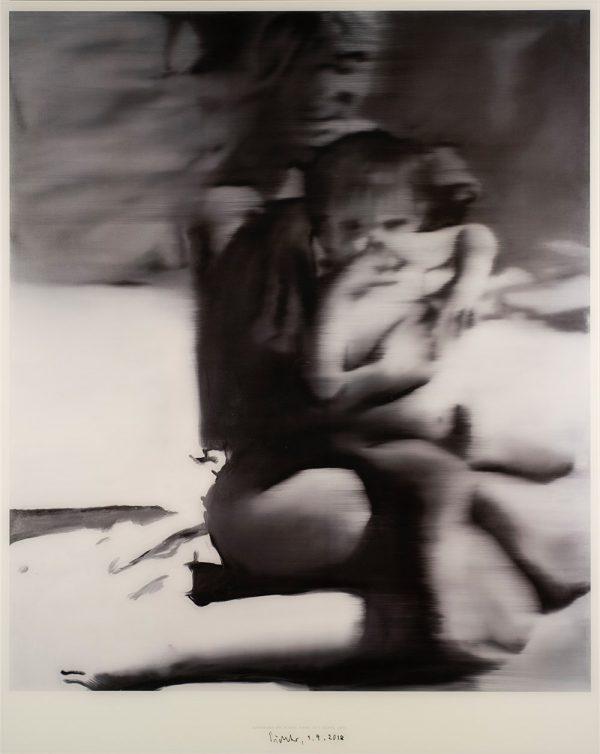 Gerhard Richter, Frau mit Kind, 1965, Edition, signiert 1.9.2018