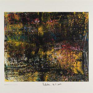 Gerhard Richter, Schräge, 1988, Edition von 2016, signiert 16.5.2017